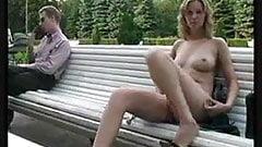 Outdoor masturbate hot pussy