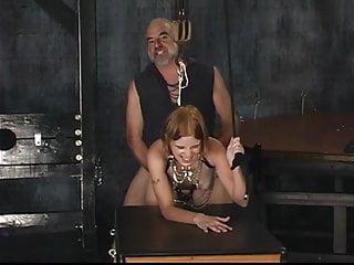 Old woman blowjob hot dungeon bondage