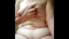 belly play & masturbation.