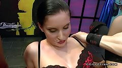 Lucia denville receiving hard dicks and gets cums