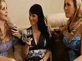 Three Hot Milfs fuck the Striper