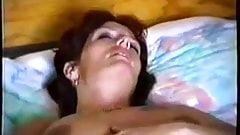 Mature wife masturbates to orgasm