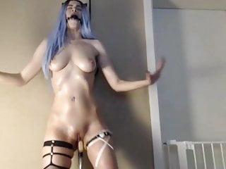 Girl Masturbate Sex Machine