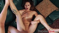 Teen cutie gets drilled from every angle to avoid punishment