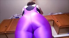 Bbw wife purple cameltoes