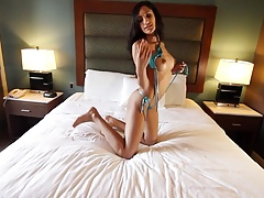 tinybikini Chloe stripping so sexy