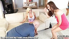 Lily Carter Seduced by Dirty Couple