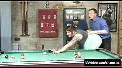Squirting pool sex table