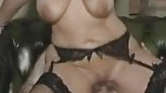 My wifes big titted friend riding me