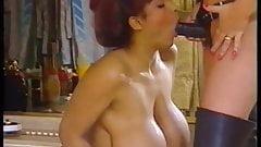 Exclusive Nipples vs Black Strapon