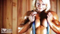 Huge Female Bodybuilder Brigita Brezovac Hot Female Muscle