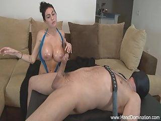 Phone sex voice handjob