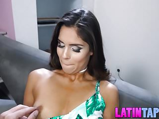 Pretty latin chick Katya Rodriguez cuckolds a poor guy