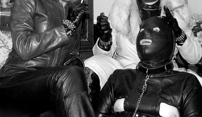 Domination leather pic