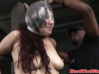 Video bokep online BDSM sub tied up and suffocated by maledom 3gp