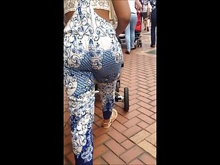 BhamBootyHunter: Sexy BootyClap as She Walks
