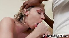 Fat ass babe Jada Stevens has her pussy inspected by a BBC