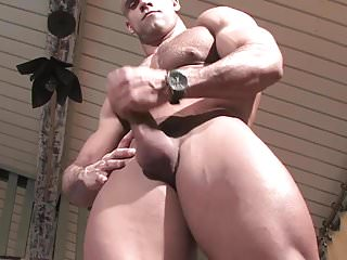 Muscle God Buck Branson Muscle Flexing Jerk Off & Cums
