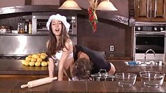 Chef Amai Liu Serves Up Pussy and Ass Cakes!
