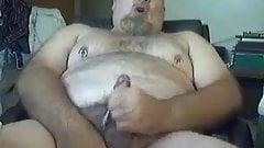 Bear Moans and Cums