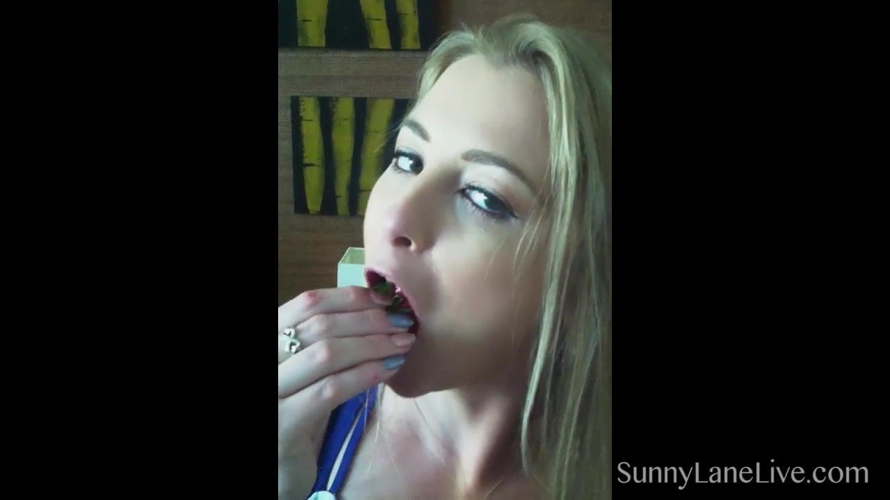 Leaked Sunny Lane Cell Phone vid