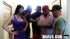 Milfs Like It Black - Even Eva Tips starring  Eva Karera
