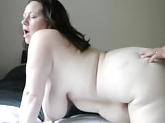 Chubby Busty Wife Cheating with Cousin's Thumb