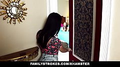 familyStrokes - step sisters Tease and Fuck Step brother