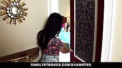 familyStrokes - step sisters T