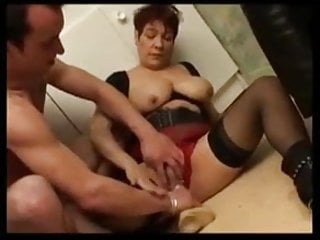 FRENCH BWW GRANNY WITH BIG BOOBS FUCKED BY HARD COCK