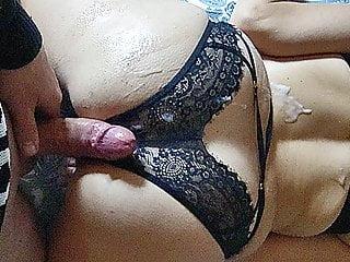 PAWG MILF Cum Covered Fucking + Cumshot on Orgasm Goosebumps