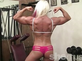 Nathalie - Her Hair Is Hot Pink. Her Muscles Are Just Hot.