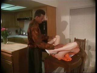 Moana Pozzi with black man in Manbait 2 (1992)