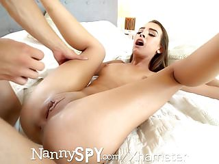 NannySpy Father sweet talks nanny Charity Crawford into fuck