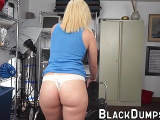 Voluptuous babe with big tits loves sucking hard on this BBC