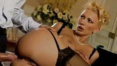 Sexy italian blonde Serena Darko