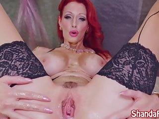 Download video bokep Kinky Milf Shanda Fay Gaps Pussy with Dildo! Mp4 terbaru