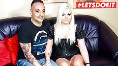 LETSDOEIT - Hot European Sextape With Horny German Couple
