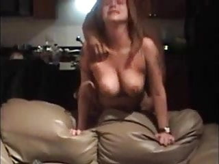 big-boobed mature taking it from behind
