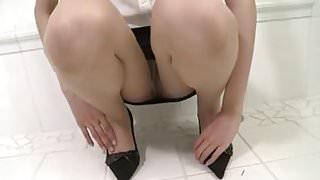 Natural pantyhose OL
