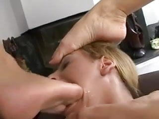 2 long clips of very beauty lesbian foot slave so sexy
