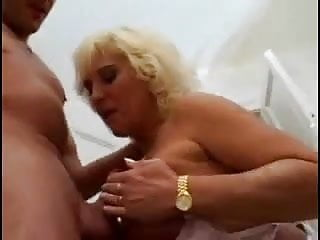 Boy fucks hotblonde woman