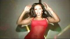 Cubana Lust Working The Stripper Pole
