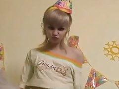 Sweet blonde Teen