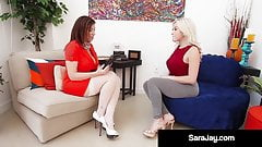 Milf Doctor Sara Jay Makes Latina Cristi Ann Cum!