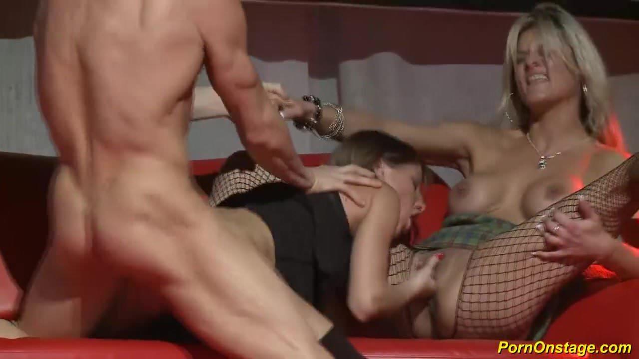 in public Orgy