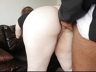 Pretty BBW gets big Black dick in Ass and Pussy.
