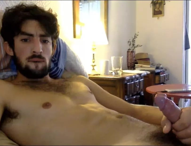Attractive Chilean Man Cums Whereas Watching Homosexual Porn