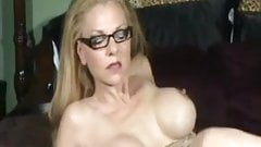 Hot Older Cougar Smoking and D