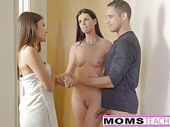 Step-Mom India Summer Caught With Teens Boyfriend